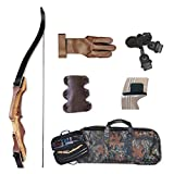 Samick Sage Take Down Recurve Bow Starter Package 50# Right Handed