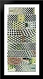 Metamorphosis III 28x28 Large Black Wood Framed Print Art by M.C. Escher