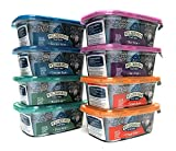 Blue Buffalo Wilderness Grain-Free Trail Tubs Stew Variety Pack, 4 Flavors (Chicken, Duck, Beef, and Turkey), 8 Ounces Each (8 Total Tubs) For Sale