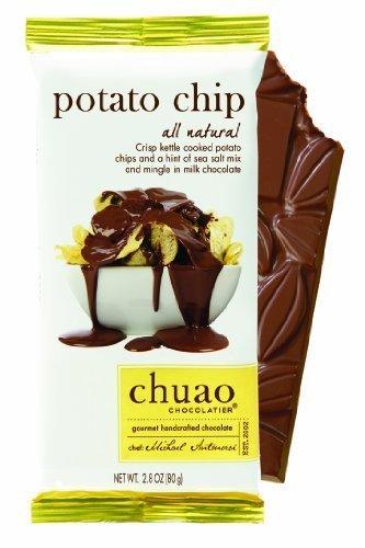 Chuao Chocolatier Premium Chocolate Bars All Flavors (3-pack) (Potato Chip)