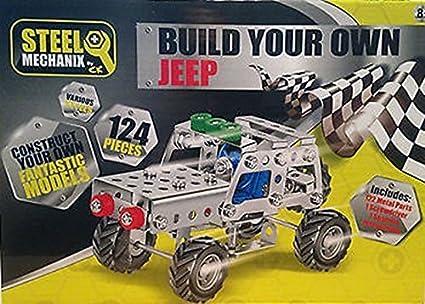 Beautiful Steel Mechanix Build Your Own Jeep