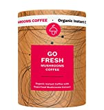 Go Fresh - Organic Instant Coffee with Super Food Mushrooms