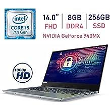 Lenovo Business Premium V720 14-inch FHD (1920x1080) Display Laptop PC, Intel i5-7200U 2.5GHz, 8GB RAM, 256GB SSD, USB Type-C, NVIDIA GeForce 940MX, Bluetooth, Fingerprint Reader, Windows 10 Pro
