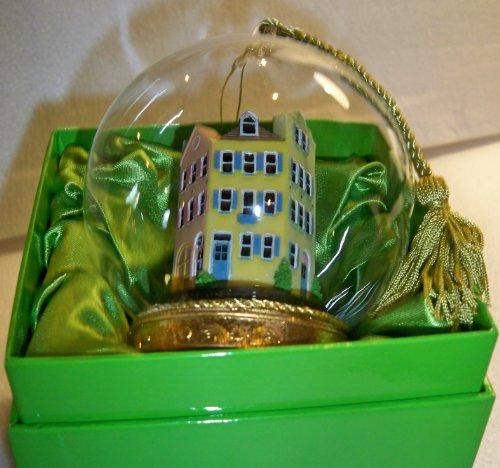Flavia Milano® South Carolina/'s Rainbow Row Memory Globe