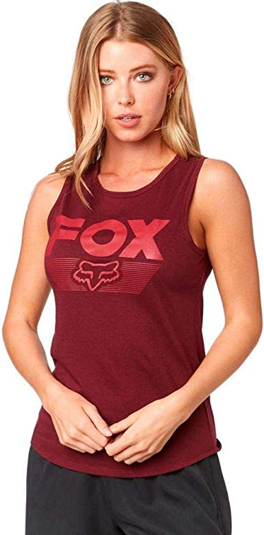 Fox Racing Live Fast Womens Vest Tank Blush All Sizes