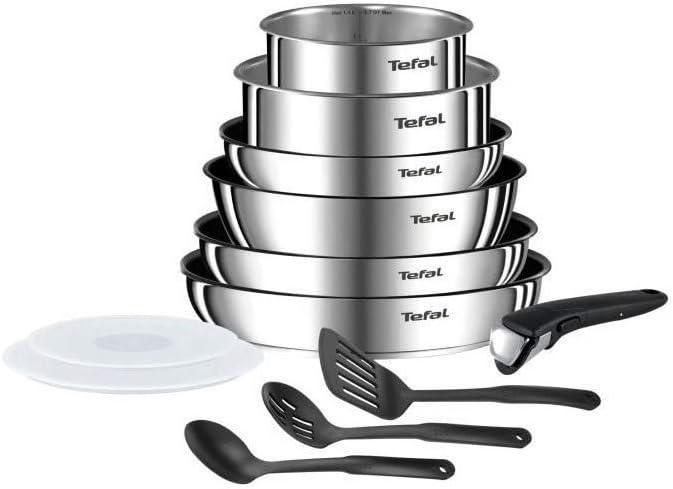 Tefal Ingenio Emotion Batterie De Cuisine 12 Pieces Induction