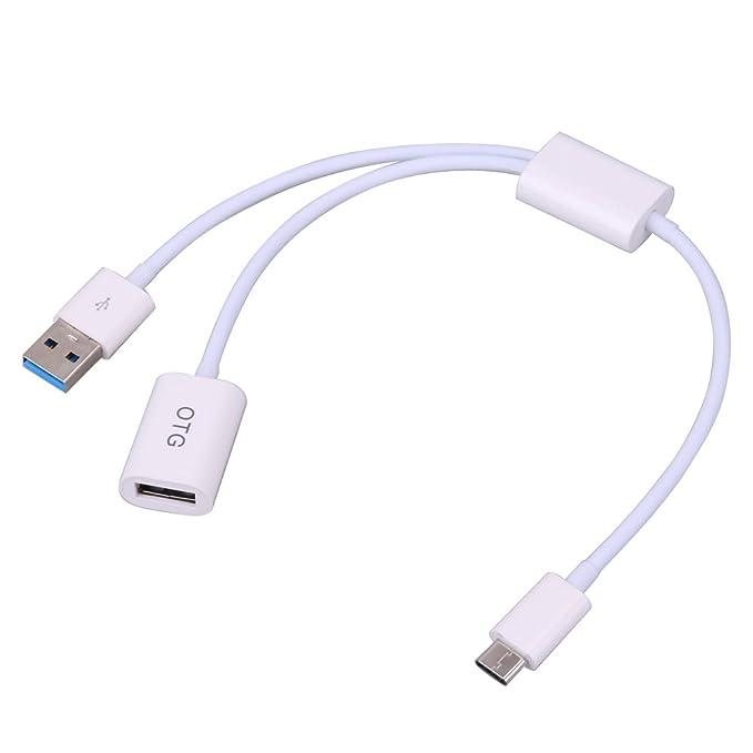 Cable USB 3.1 OTG para Apple MacBook para ordenador portátil y PC para Google (tipo C): Amazon.es: Electrónica