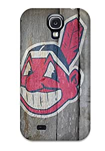 Awesome YkrxcMW17029ujSgc ChrisWilliamRoberson Defender Tpu Hard Case Cover For Galaxy S4- Cleveland Indians