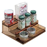 InterDesign Formbu Stadium Spice Rack 2, Sand/Mocha