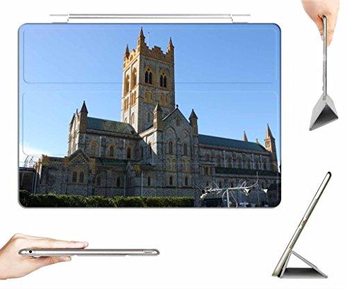 iPad Air Case + Transparent Back Cover - Buckfast Abbey - [Auto Wake/Sleep Function] [Ultra Slim] [Light Weight]