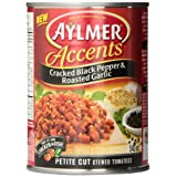 Aylmer Accents Black Pepper and Garlic (Pack of 12)