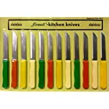 2 X Fixwell 12-Piece Stainless Steel Knife Set