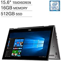 Dell Inspiron 15 5000 Series 2-in-1 Touchscreen Laptop - Intel Core i7 - 16GB RAM - 512GB SSD