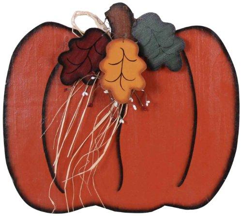 Ideas Holoween (Garden Decoration WL743 Wooden Pumpkin Garden Accent, 17 by 19-Inch,)