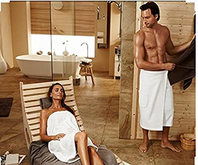 Soft & Softly Long Size Women`s Body Wrap, Shower & Bath, Terry Spa Towel, Made In Turkey
