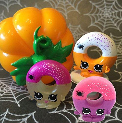 Shopkins Pumpkin Limited Edition Yummi Gummy Ring Set of (Why Pumpkin For Halloween)