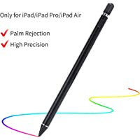 Stylus Pen 2nd Gen for iPad with Palm Rejection, Quifive Active iPad Pen Digital Pencil Compatible with Apple iPad 2018(6th Gen), iPad Air (3rd Gen), iPad Mini (5th Gen), iPad Pro 11/12.9 (Black)