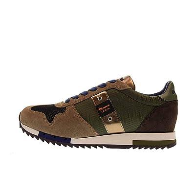 Shoes Turnschuhe Man Blauer 8fquincy01cam Blauer n8XNOk0wP