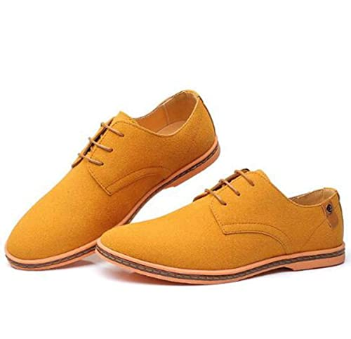 Brand 2019 Spring Suede Leather Men Shoes Oxford Casual