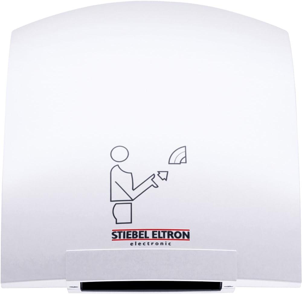 "B001AHTNR8 Stiebel Eltron 073009 1850W, 120V, 6-7/8"" W x 9-13/16"" H x 9-1/16"" D Galaxy 1 Touchless Automatic Hand Dryer 51JcZgItrFL"