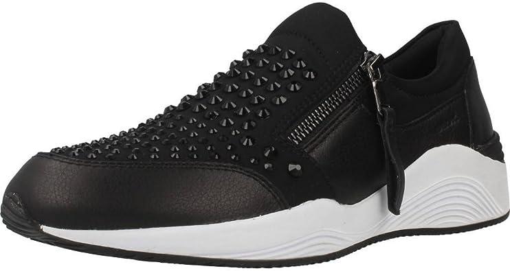 Sport scarpe per le donne, color Nero , marca GEOX, modelo
