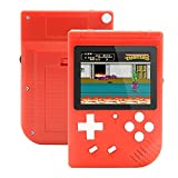 Augstar Handheld Game Console, Retro FC Game Console 3 Inch 400 Classic Game Video Portable Mini Player Game Console,Birthday Gift for Boy Kid Adult - (Red)