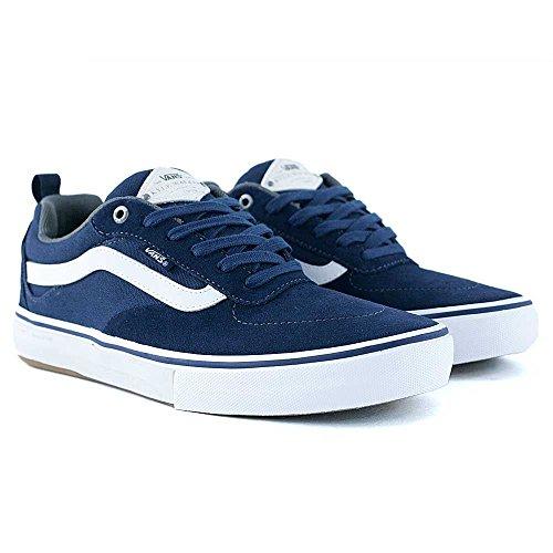 Vans Kyle Walker Pro monopatín zapatos, azul marino/blanco azul marino