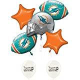 Miami Dolphins Bouquet Of Balloons Bundle