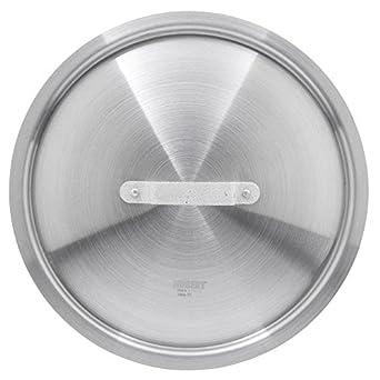 Hubert tapa de aluminio para 10 1/2 Qt Salsa Cacerola – 12 9/