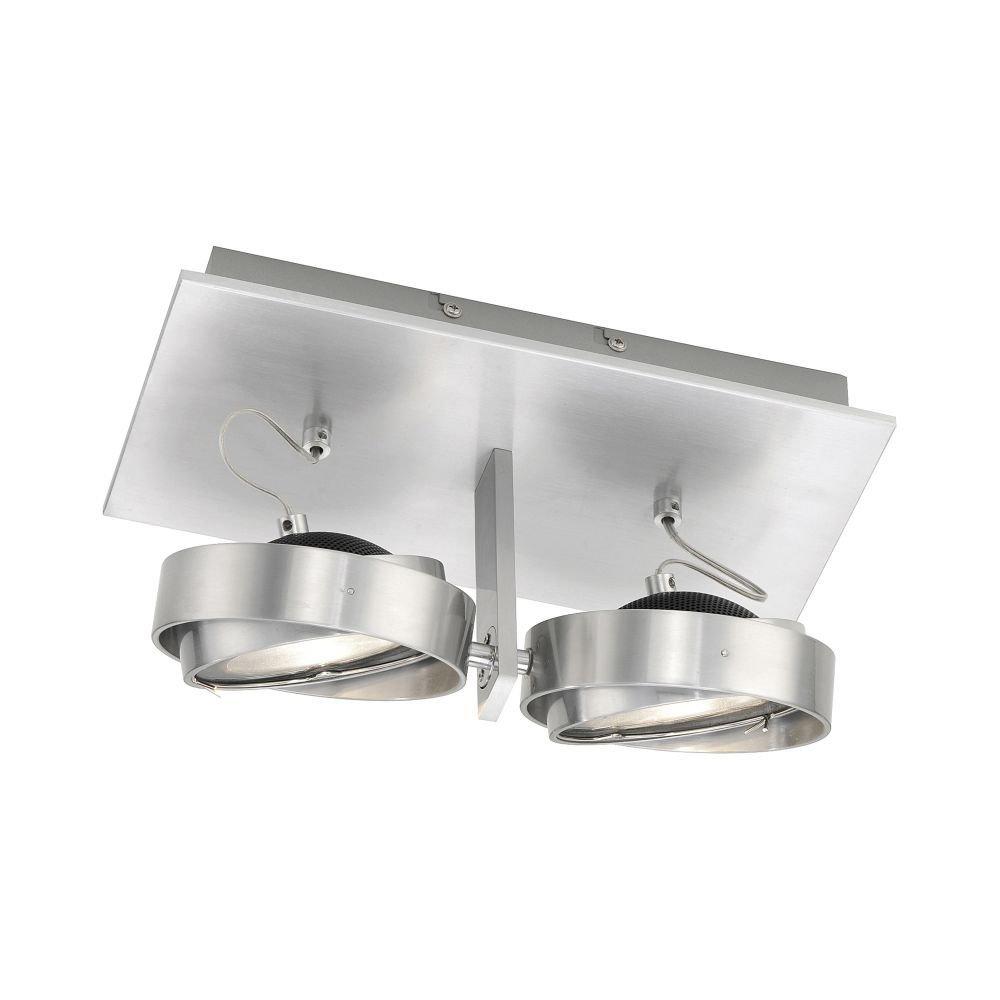 LED-Deckenleuchte Q-CIRIX Decken Lampe Smart-Home CCT Lichtmanagement 660 Lumen Fernbedienung Lampenspot, warmweiß tageslichtweiß APP Steuerung, dimmbar