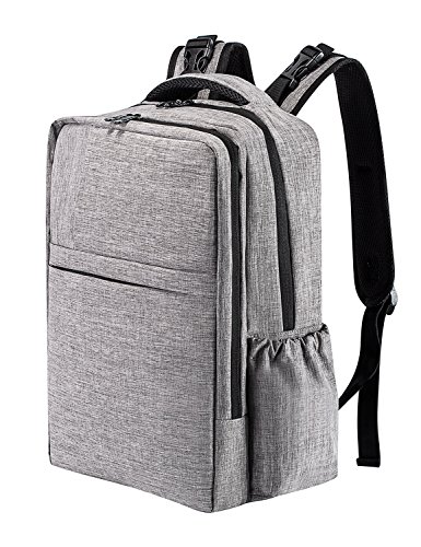 Diaper Bag Backpack Multi-Function Nappy Bags with Changing Pad Insulated Pockets Stroller Straps for Baby Care Large Capacity for Mom & Dad Grey