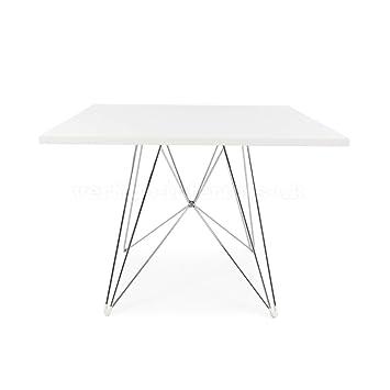 Amazoncom Eames Style Eiffel DSR Leg Dining Table Square