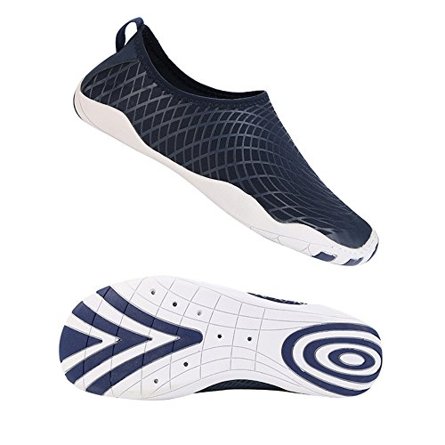 INFMETRY Women Men Kids Water Shoes For Beach Pool Surfing Blue