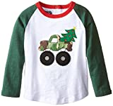 Little Boys' Camo Christmas T-Shirt