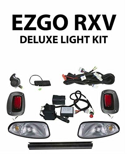 Golf Clubs & Equipment EZGO RXV GOLF CART DELUXE STREET LEGAL HEAD & TAIL LIGHT KIT