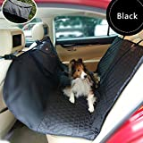 KamaLM Deluxe Waterproof Travel Car Seat Blanket Pet Cover for dogs Black For Sale
