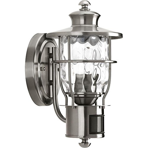 Progress Lighting Beacon Stainless Steel Outdoor Wall Lantern P6025-135DI - Used