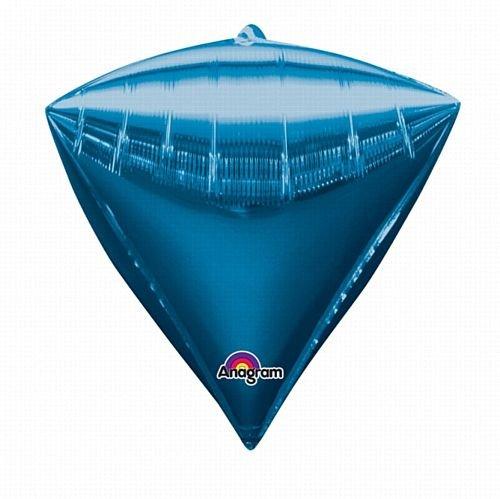 IdealWigsNet diamondz   Palloncino Foil Blu - 43 cm