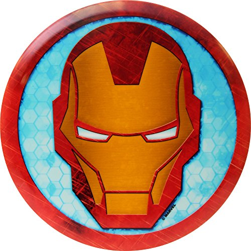 Dynamic Discs Marvel Avengers Cracked Series DyeMax Iron Man Head Fuzion Truth Midrange Golf Disc - 177-180g