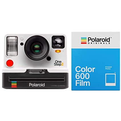 4d711121ac5b Amazon.com   Polaroid Originals 9008 OneStep 2 VF Instant Film Camera (White)  w 4670 Color Instant Film   Camera   Photo