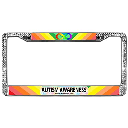 Amazon.com: GND Heavy Duty License Plate Frame,Stainless Metal ...