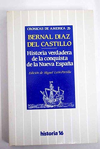 Historia verdadera de la conquistade la nueva España. Crónicas de América: Amazon.es: Díaz del Castillo, Bernal: Libros
