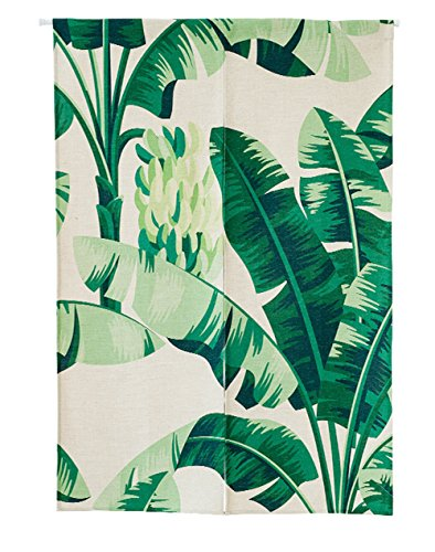 KARUILU home Japanese Noren Doorway Curtain Tapestry with Summer Mood 33.5