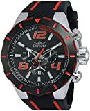 Invicta Men's 20105 S1 Rally Stainless Steel Watch With Black PU Band