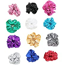 Speerise Gymnastic Hair Scrunchie Ponytail Holders(Varity of Colors)
