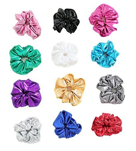 Speerise Gymnastic Hair Scrunchie Ponytail Holders(Varity of -