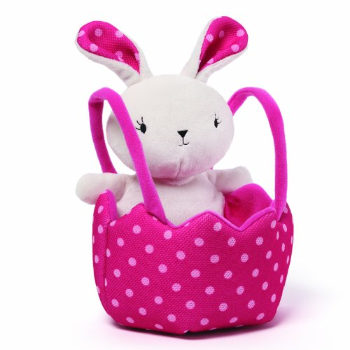 - GUND Easter Bunny and Basket Plush