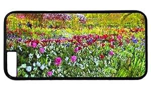 A Beautiful Garden DIY Hard Shell Black iphone 6 Case Perfect By Custom Service
