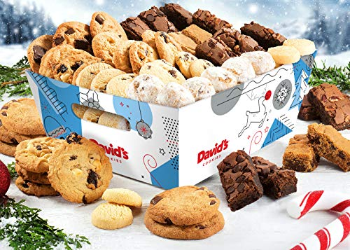 (David's Cookies 6 Lb. Assorted Cookies & Treats in Seasons Greetings Gift)