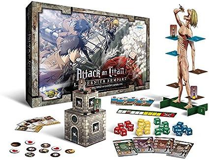 Don t Panic Games dpg1001 Juego de Sociedad Attack On Titan el último Fortaleza: Amazon.es: Juguetes y juegos